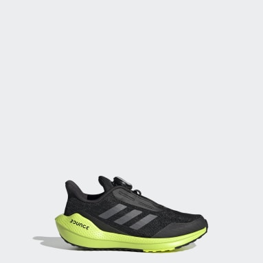 Barn Löpning Svart EQ Run Boa Shoes