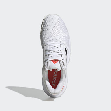Chaussure CourtJam Bounce Blanc Tennis