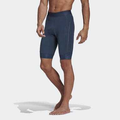 Cuissard The Strapless Cycling Bleu Hommes Cyclisme