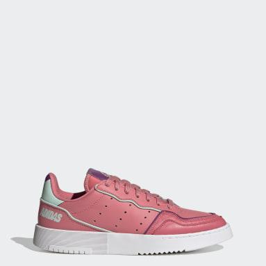 Women Originals Pink Supercourt Shoes