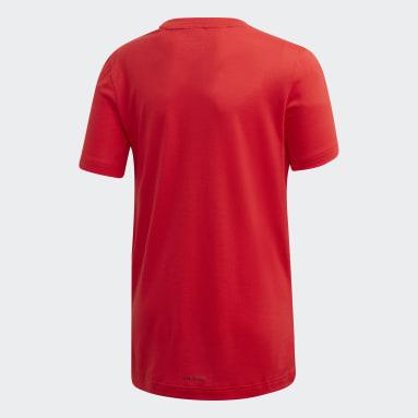 Playera Prime Rojo Niño Training