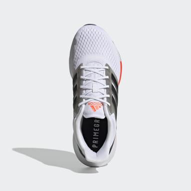 Men Running White EQ21 Run Shoes