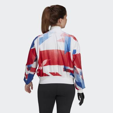 Women Gym & Training White Team GB Podium Jacket