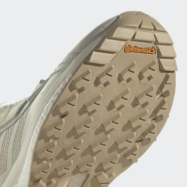 Women's TERREX White Terrex Free Hyperblue Mid Hiking Shoes