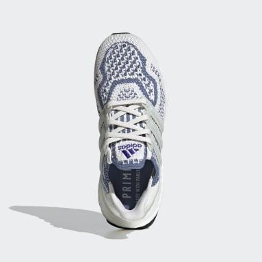 Kids Running White Ultraboost 5.0 DNA Primeblue Shoes