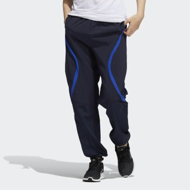 Dam Löpning Blå Coldweather AEROREADY Training Pants