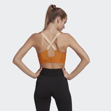 Reggiseno Ultimate Arancione Donna Trail Running