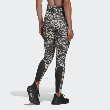 Women HIIT Grey Adizero Primeblue Long Running Leggings