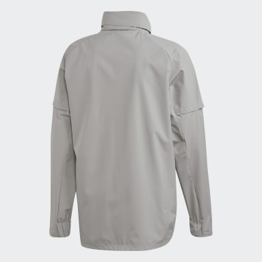 Herr Fotboll Grå Condivo 20 Allweather Jacket