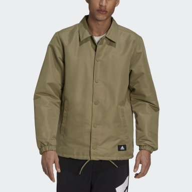 Chamarra adidas Sportswear Future Icons Entrenador Verde Hombre Sportswear