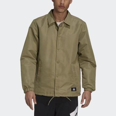 Chaqueta adidas Sportswear Future Icons Coach Verde Hombre Sportswear