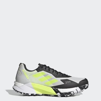 TERREX White Terrex Agravic Ultra Trail Running Shoes