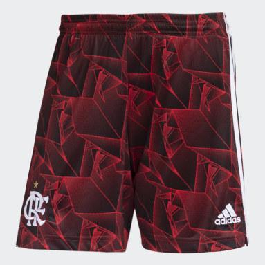 Shorts 2 CR Flamengo 21/22 Vermelho Homem Futebol
