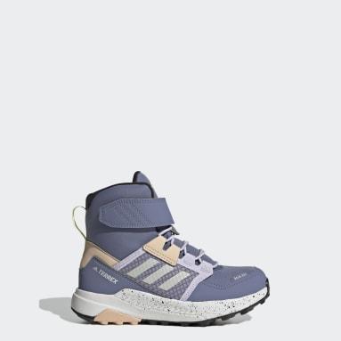 фиолетовый Ботинки для хайкинга Terrex Trailmaker COLD.RDY