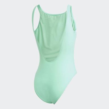 Bañador Trefoil Verde Mujer Originals