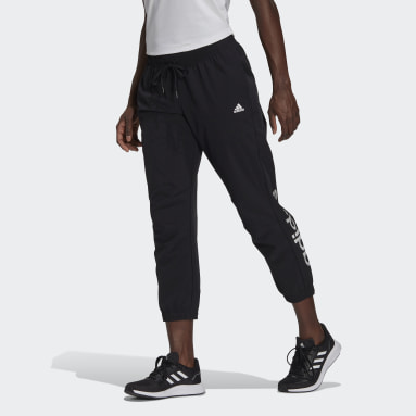 Pantalón 7/8  Designed to Move Print Stretchy Sport Negro Mujer Running