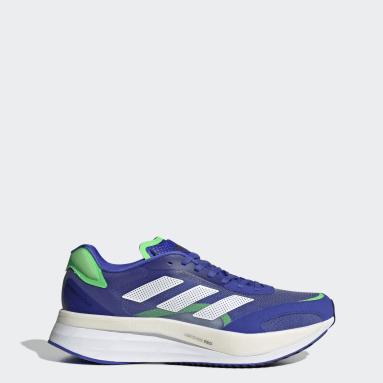 ผู้ชาย วิ่ง สีน้ำเงิน รองเท้า Adizero Boston 10