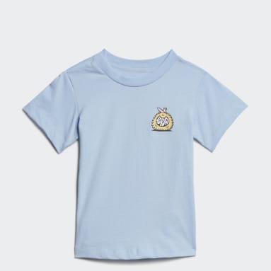 T-shirt adidas Originals x Kevin Lyons Blu Bambini Originals