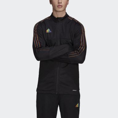Men Football Black Tiro Pride Track Jacket