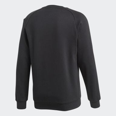 Sweat-shirt Core 18 Noir Hommes Fitness Et Training