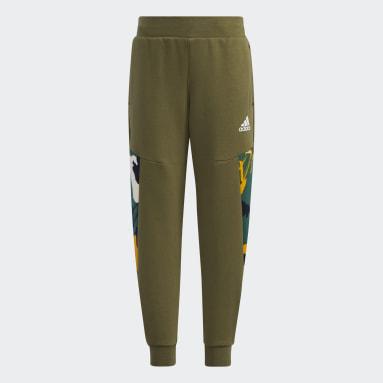 Boys Gym & Träning Grön Fleece Pants