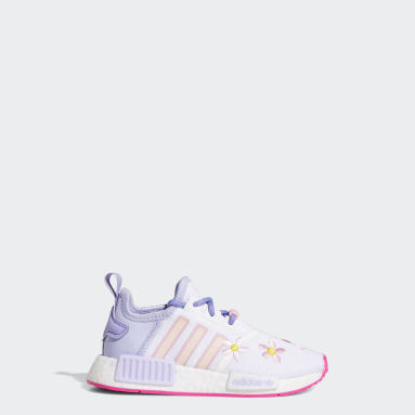 Children 4-8 Years Originals White NMD_R1 Monsters, Inc. Shoes