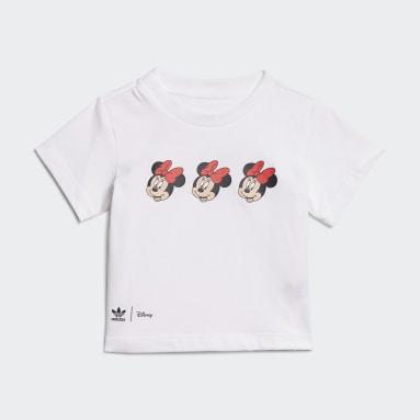 Conjunto de Falda y Camiseta Disney Mickey y Amigos Blanco Niña Originals