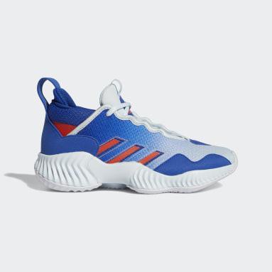 Kinderen Basketbal Blauw Court Vision 3 Schoenen