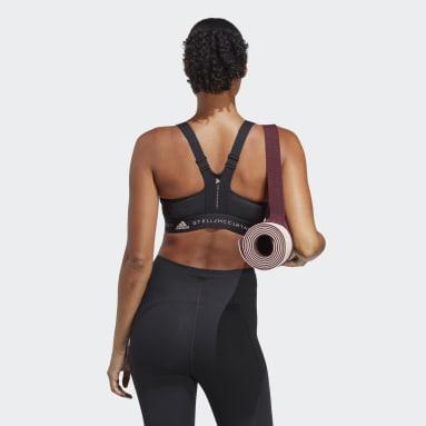 черный Спортивный бра adidas by Stella McCartney Post-Mastectomy High-Support