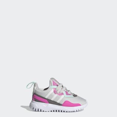 Kids Originals Grey Originals Flex Shoes
