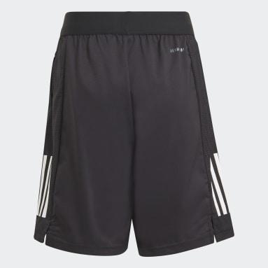 Youth 8-16 Years Gym & Training Black XFG AEROREADY Sport Shorts