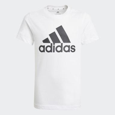 T-shirt Essentials Bianco Ragazzo Sportswear