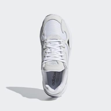 Women Originals White Falcon Shoes