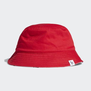 เด็ก Originals สีแดง หมวกปีกรอบ Originals x Aaron Kai