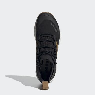 Herr TERREX Svart Terrex Free Hiker GTX Hiking Shoes