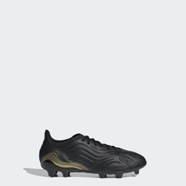 Boys Football Black Copa Sense.1 Firm Ground Boots