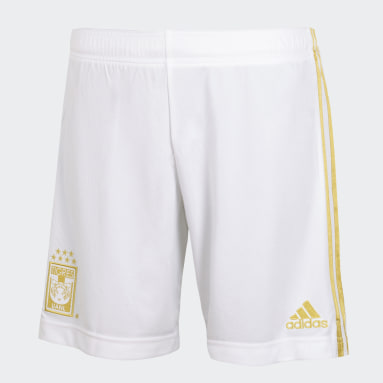 Shorts Tercer Uniforme Tigres UANL 20/21 Blanco Hombre Fútbol