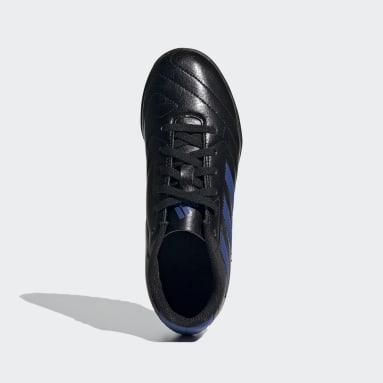 Children Soccer Black Goletto VII Turf Shoes