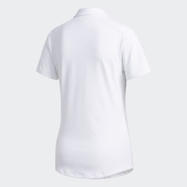 Women Golf White Ultimate365 Polo Shirt