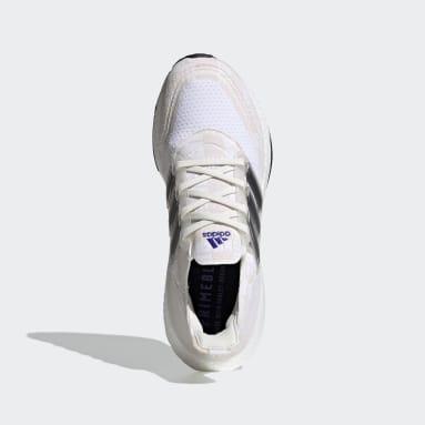 Chaussure Ultraboost 21 Primeblue blanc Course