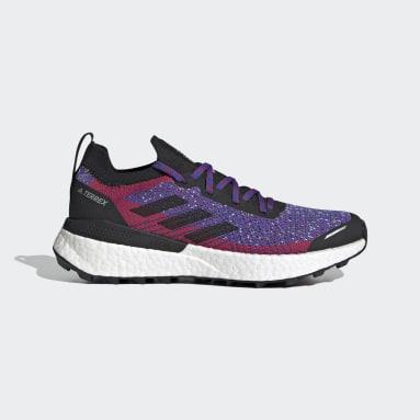 Sapatos de Trail Running Primeblue TERREX Two Ultra Vermelho Mulher TERREX
