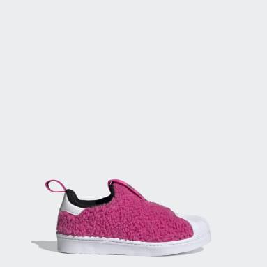 Children Originals Pink Superstar 360 Shoes