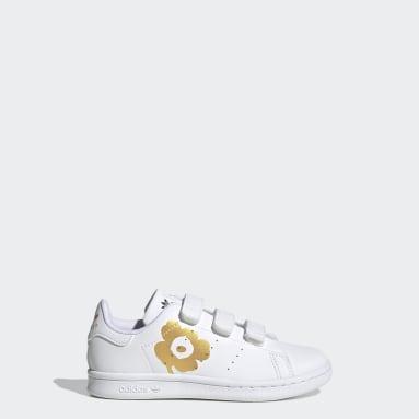 Barn Originals Vit Marimekko Stan Smith Shoes