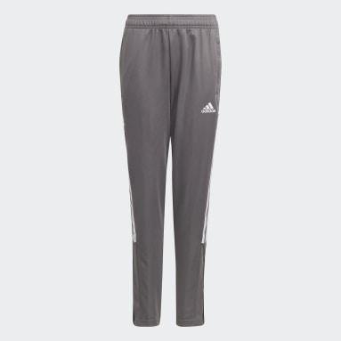 Youth Lifestyle Grey Tiro 21 Track Pants