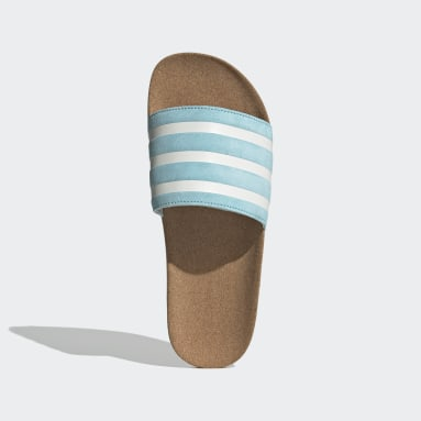 Women Originals Blue Adilette Slides