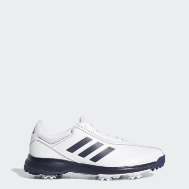 Men Golf White Traxion Lite Shoes
