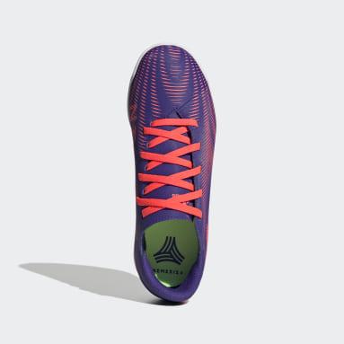 Boys Futsal Lila Nemeziz .4 Indoor Boots
