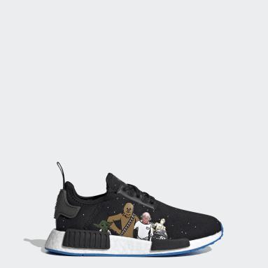 Kids Originals Black NMD_R1 Star Wars Shoes
