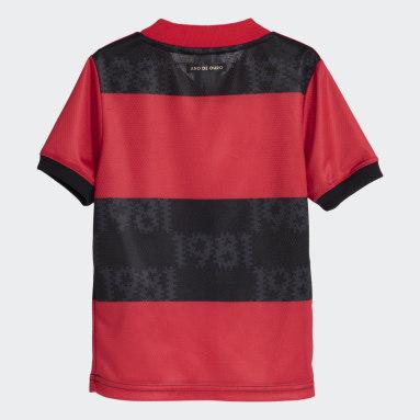 Mini Kit CR Flamengo 1 Vermelho Kids Futebol