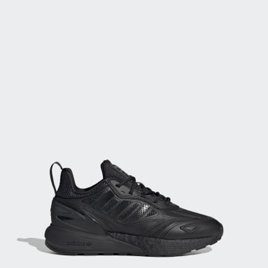 Youth Originals Black ZX 2K Boost 2.0 Shoes